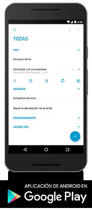 Android, Google Play y el logotipo de Google Play son marcas comerciales de Google Inc.